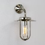 Astro Lighting Montparnasse 0484 Polished Nickel Exterior Light