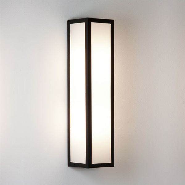 Contemporary Outside Wall Lamps : 0848 Astro Salerno wall light Outdoor lighting IP44 modern and contemporary, Outdoor Lighting ...