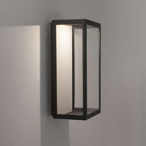 Astro lighting puzzle 0931 clear glass outdoor wall lightas4008