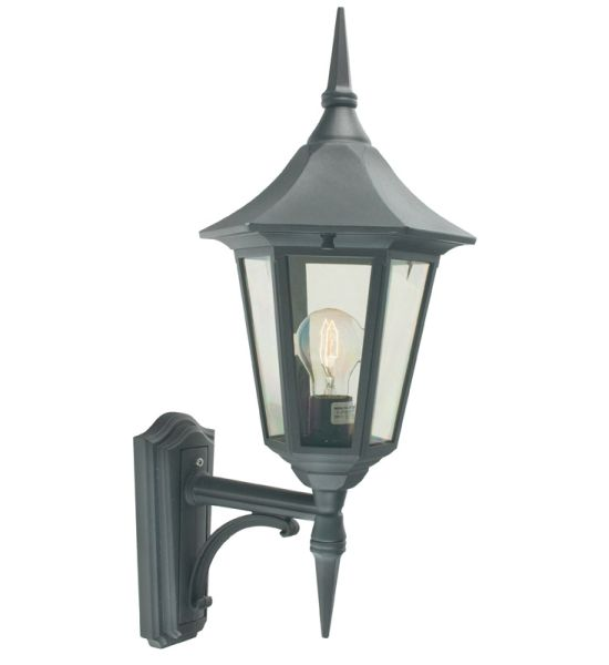 Buy Turin Grande Outdoor Pedestal Lanterns By Norlys: Elstead V1 Valencia Wall Lantern