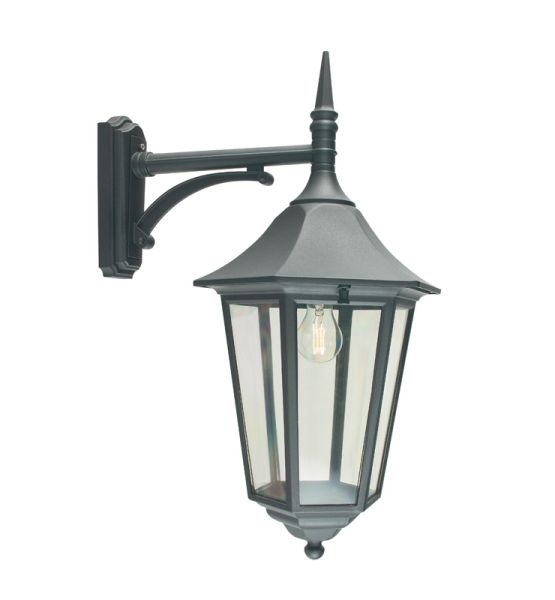 Buy Turin Grande Outdoor Pedestal Lanterns By Norlys: Elstead VG2 Valencia Grande Drop Down Wall Lantern