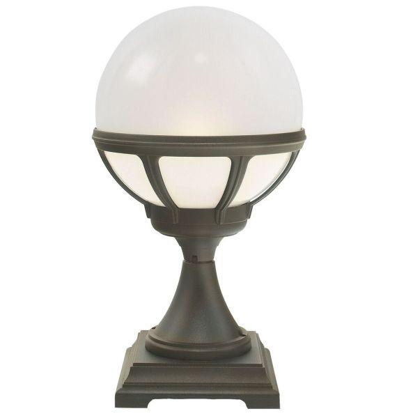 Elstead B3 Bologna Globe Pedestal Lantern