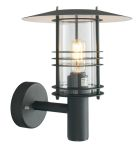 Elstead Stockholm ST1 Black Small Wall Light