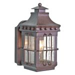 Elstead MERROW Exterior Wrought Iron Wall Lantern