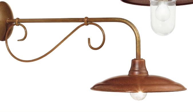 Handmade Brass Wall Lights : Handmade Outdoor Lights, Outdoor Lighting Centre