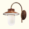 Calmaggiore Curved Outdoor Wall Lamp