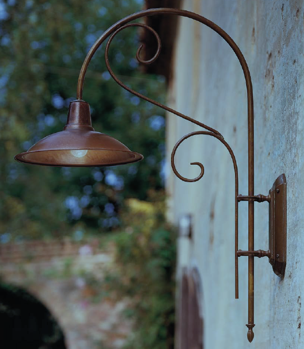 Copper Garden Wall Lights : Copper Wall Lights, Outdoor Lighting Centre