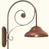 Antiqued Copper Wall Lights