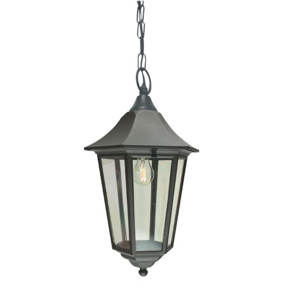 Buy Turin Grande Outdoor Pedestal Lanterns By Norlys: Elstead Valencia VG8 Chain Lantern