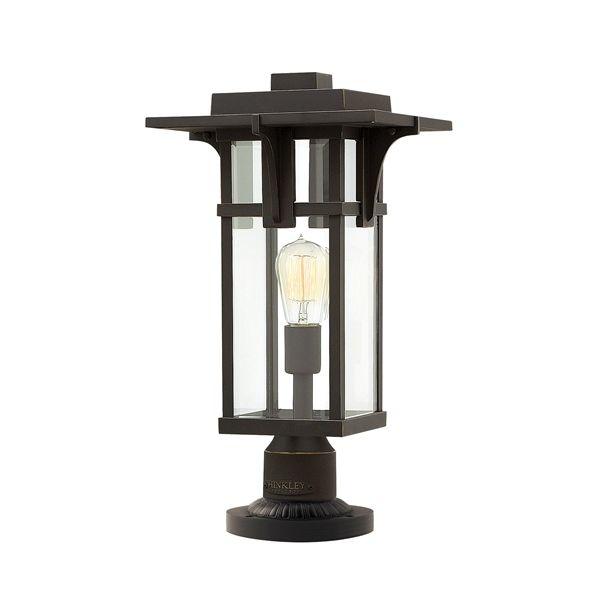 Hinkley Montreal Pedestal Light: Hinkley Manhattan Pedestal