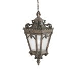 Elstead Tournai KL/TOURNAI8/XL Extra Large Chain Lantern