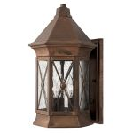 Elstead Brighton HK/BRIGHTON2/M Solid Brass Medium Lantern