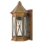 Elstead Brighton HK/BRIGHTON2/S Solid Brass Small Lantern