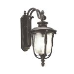 Elstead Luverne KL/LUVERNE2/M Medium Bronze Wall Lantern