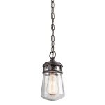 Elstead Lyndon KL/LYNDON8/S Small Bronze Chain Lantern