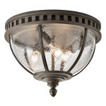 Elstead Halleron KL/HALLERON/F Flush Ceiling Light