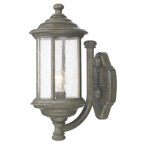Buy Turin Grande Outdoor Pedestal Lanterns By Norlys: Dar Brompton Wall Light