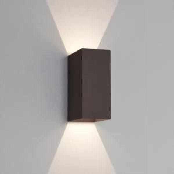 Astro Lighting Oslo 160 Black 7061 LED Outdoor Wall Light[AS4024]