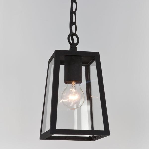 Astro Lighting Calvi 7112 Black Outdoor Pendant LanternAS4012
