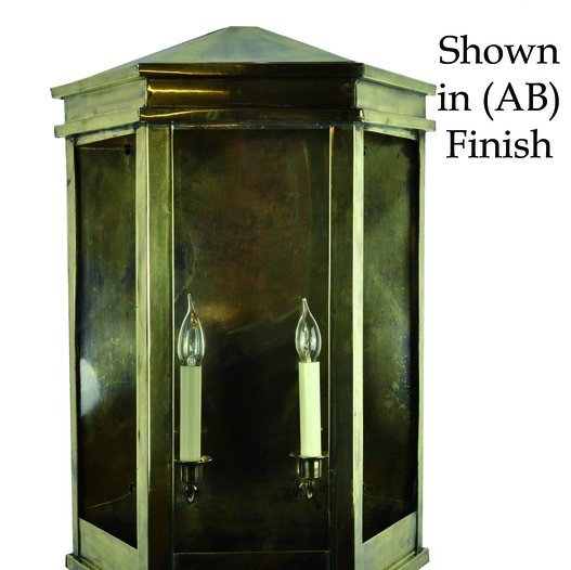 Limehouse (735A) Metropolitan Wall Lantern (Large)