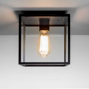 outdoor ceiling lights. Astro Lighting Box 7389 Black Exterior Ceiling Light[AS4102] Outdoor Lights L