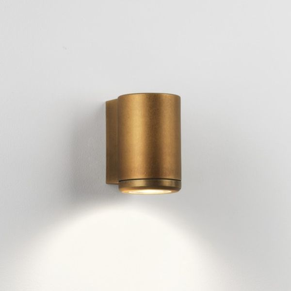 AS4142 Astro Lighting 7806 Jura Single Antique Brass Wall Light Next Da