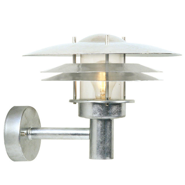 Nordlux Amalienborg 10600219 Galvanized Outdoor Wall Light