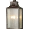 Elstead BALMORAL Old Bronze Large Half Lantern