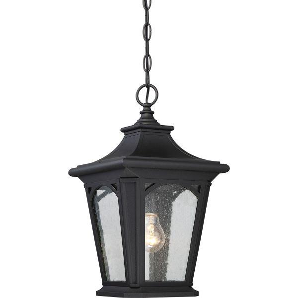 Elstead Bedford QZ BEDFORD8 S Black Chain Lantern2675