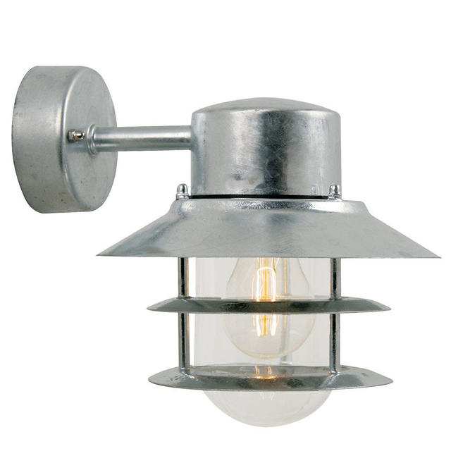 Nordlux Blokhus 25051031 Down Galvanised Wall Light