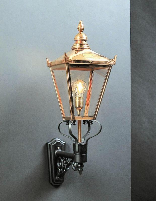 Chelsea CS1 Copper Wall Lantern Elstead Norlys ART 954