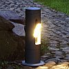 Lutec Cylin LED Small Post Spotlight