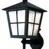 Elstead Canterbury BL46M Square Black Wall Lantern