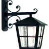 Elstead Canterbury BL52M Exterior Black Downward Lantern