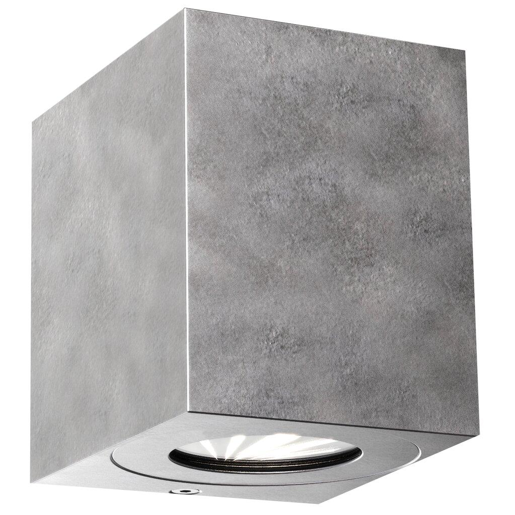 Nordlux Canto Kubi 2 Galvanized 49711031 Up/Down LED Wall Light