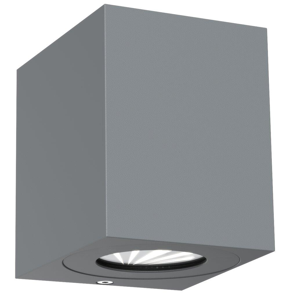 Nordlux Canto Kubi 2 Grey 49711010 Up/Down LED Wall Light