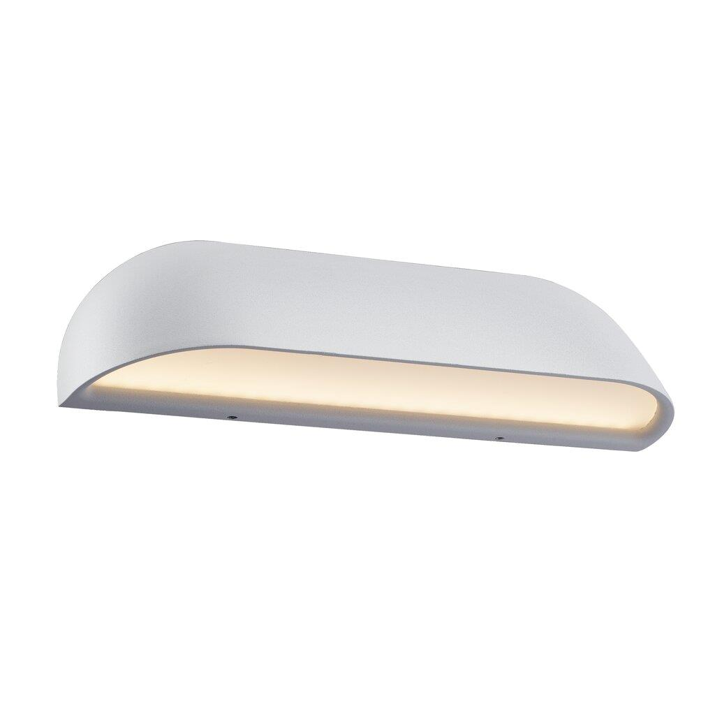 Nordlux Front 26 LED 84081001 White Outdoor Wall Light