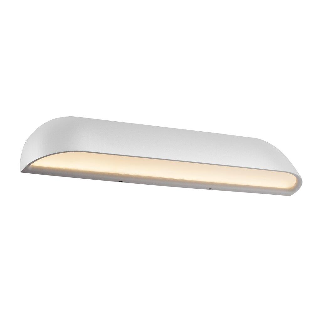 Nordlux Front 36 LED 84091001 White Outdoor Wall Light