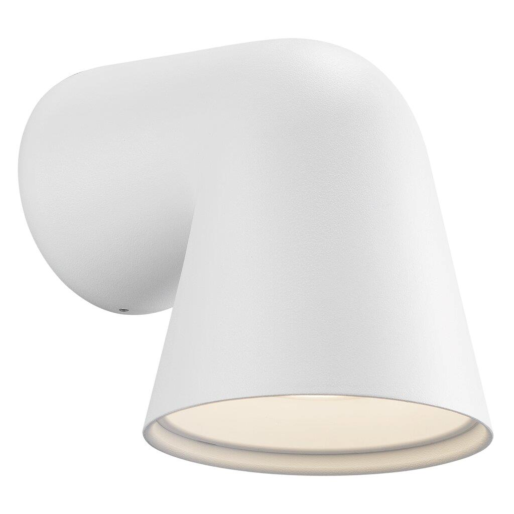 Nordlux Front Single 46801001 White Outdoor Wall Light