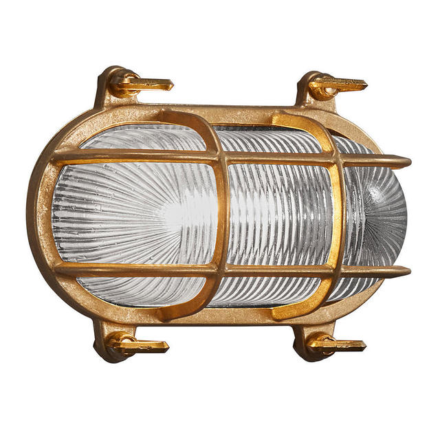 Nordlux Helford Brass 49031035 Coastal Wall Light
