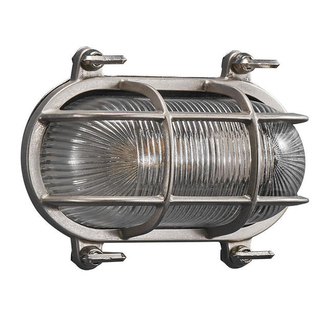 Nordlux Helford Nickel 49031055 Coastal Wall Light