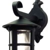 Hereford Black Wall Lantern