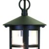 Elstead Hereford BL21B Black Porch Chain Lantern