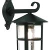 Elstead Hereford BL21/G Black Exterior Wall Lantern