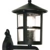Elstead Hereford BL22/G Black Classic Outdoor Wall Lantern
