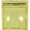 Elstead Holborn Medium Polished Brass Wall Lantern