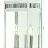 Elstead Holborn HL7/M PC Polished Chrome Medium Wall Lantern