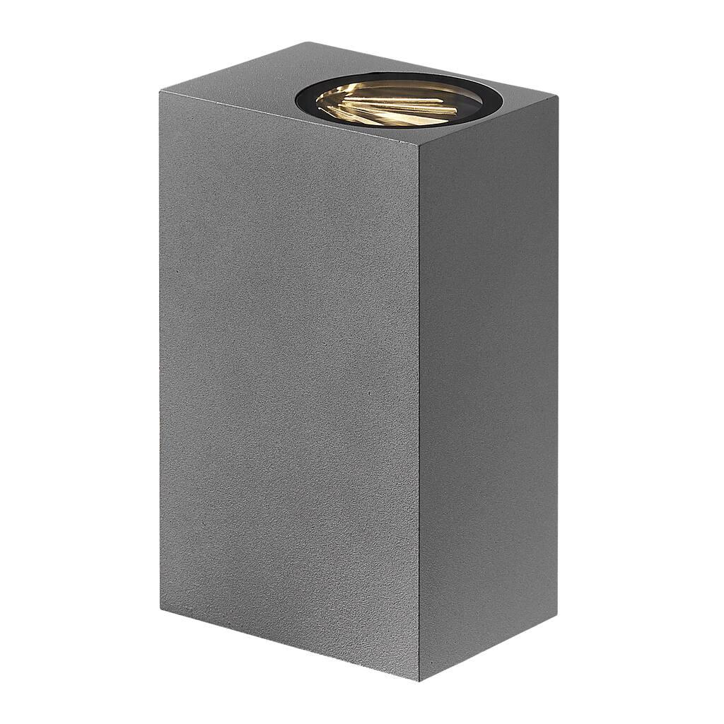 Nordlux Asbol Kubi Grey 2019071010 Outdoor LED Wall Light