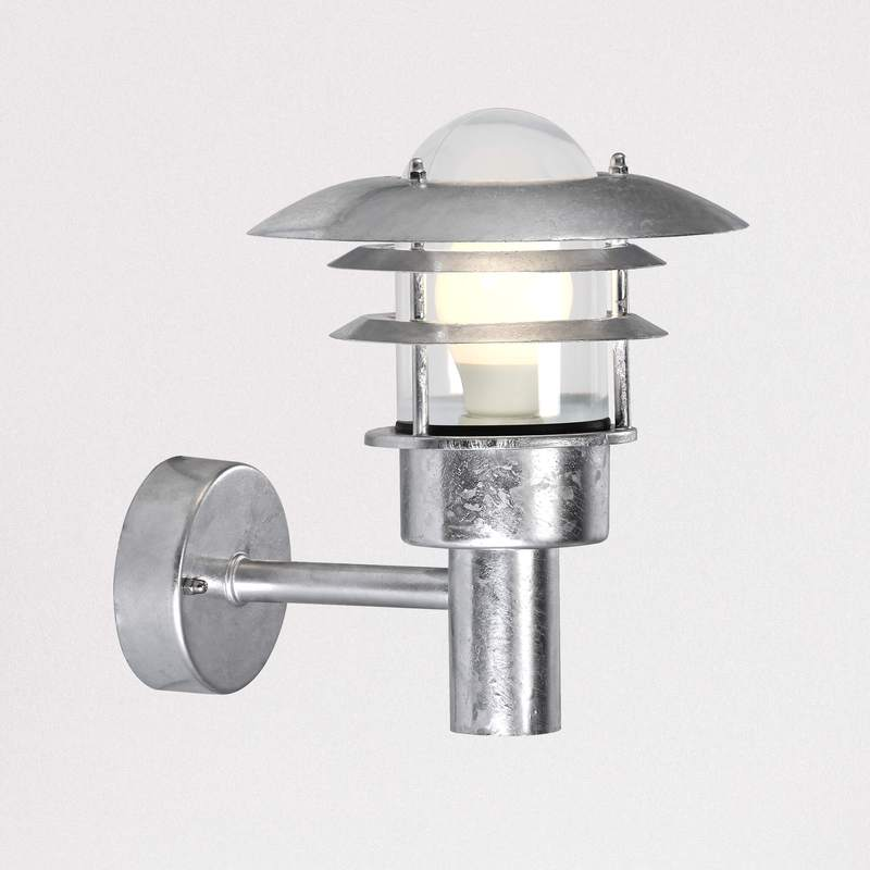 Nordlux Lonstrup 22 71431031 Galvanized Outdoor Wall Light