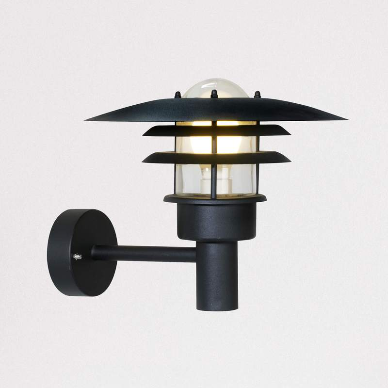 Nordlux Lonstrup 32 Black 71411003 Outdoor Wall Light